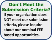 Don't Meet the Submission Criteria?